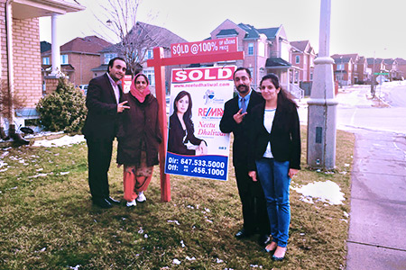 Happy Clients Home Sold Brampton