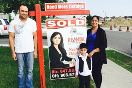 Happy Clients in Brampton